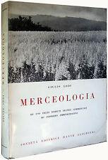 Merceologia GIULIO LODI Società Editrice Dante Alighieri 1963