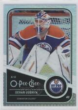 2011-12 O-Pee-Chee Rainbow Foil #64 Devan Dubnyk Edmonton Oilers Hockey Card