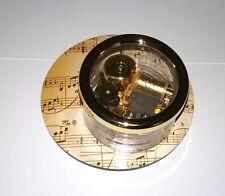 Classical Music - Revolving Music Box - Golden Movement Start Stop Switch Gift
