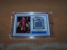 Topps WWE 2012 Trading Card The Miz Authentic Mat Relic WrestleMania XVIII