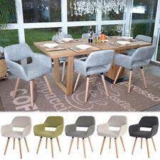 Set 6x sedie sala da pranzo HWC-A50 II design retro legno versione a scelta