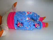 Handmade♥angerauht Winter♥Hafenkitz♥Glitzer♥Pumphose♥Kuschelhose♥Hose♥Gr.50-104