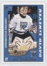 2003 Pacific Prospects AHL Edition Autographs Autographed #77 David LeNeveu Auto