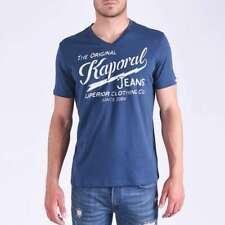 T shirt Kaporal manches courtes homme BRUCE Blue us