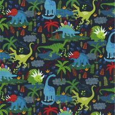 Jurassic Dinosaur *CHOOSE DESIGN* Toss Kids Nursery Quilt Quilting Fabric FQ