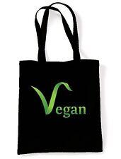 Borsa a tracolla logo Vegan-Vegetariano Veggie dei diritti degli animali presenti-scelta colore