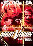 Night Vision (DVD, 2004) Fred Williamson, Cynthia Rothrock, Frank Pesce *NEW*