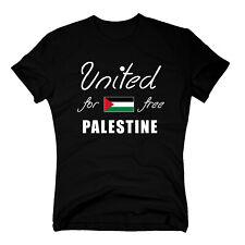 FREE PALESTINE T-Shirt Flagge Palästina klein Gaza Westjorda Shirt Tee NEU S-3XL