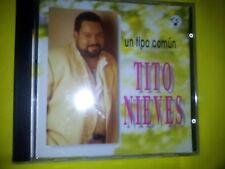 TITO NIEVES - UN TIPO COMUN (1995). CD.