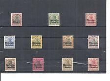 Marokko, DAP, 1900 - 1911, Einzelmarken aus Michelnrn: 7 - 58 */**, ungebraucht