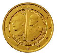 2 Euro Vergoldet In Euro Gedenkmünzen Aus Luxemburg Günstig Kaufen