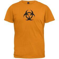 Biohazard Symbol Adult Mens T-Shirt