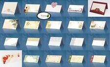 25 Platzkarten Hochzeit Tischkarten Namenskarten Taufe Geburtstag Motive uni