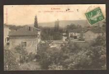 CAMPAGNE (09) VILLAS & PONT sur L'ARIZE en 1907