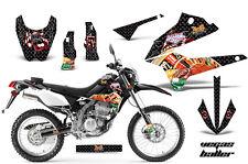 AMR RACING MOTORCYCLE D TRACKER OFF ROAD STICKER KIT KAWASAKI KLX 250 08-12 VBK