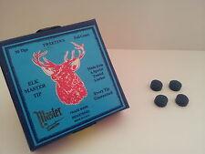 4 x Elkmaster Snooker or Pool Cue Tips Elk Master