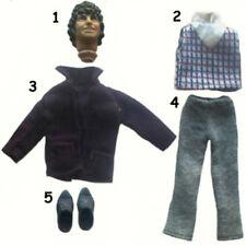 "1976 FLASH GORDON DOCTOR WHO 10"" mego figure -- KNIFE PANTS DRESS SUIT ARMS"