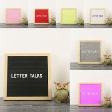 Wall Mounted Vintage Changeable Felt Letter Board Message Kids Adult DIY