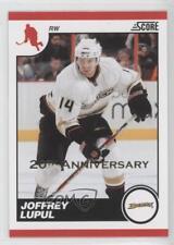 2010 Score 20th Anniversary #38 Joffrey Lupul Anaheim Ducks (Mighty of Anaheim)