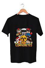 Camiseta manga corta Compadretes. Varios colores