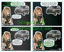 Honda Element SC & Friends: Lion on the Lamb: Print Ad!