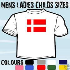 Dinamarca Bandera danesa emblema de Superdry Todos Los Tamaños