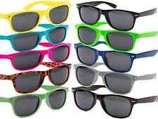 Nerd Sonnenbrille Nerdbrille Retro Vintage Unisex Brille UVSCHUTZ 400 Way
