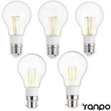 Vintage LED Edison Bulb E27 B22 3W 4W 6W Retro Home Deco Light Lamp 12V 85-265V