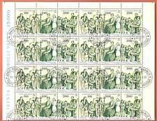 VATICANO 1988 BLOCCO N 8 serie USATE S. GIOVANNI BOSCO