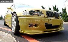 BMW E46 M3 Parachoques Delantero Alerón Labio Barbilla Tuning csl m Spor Tpower Tech Cenefa