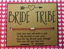 Hen Night / Bride Tribe / Squad / Bachelorette / Girls Night / Wish Bracelets