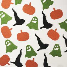 Halloween Witch Ghost Pumpkin Party Decor Craft DIY Confetti