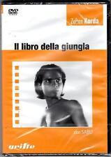 IL LIBRO DELLA GIUNGLA ZALTAN KORDA DVD SIGILLATO SEALED