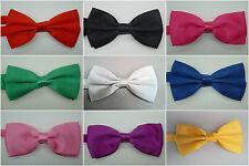 Wedding Formal Tuxedo Mens Satin Bow Ties Various Colors