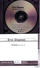 ERIC CLAPTON So Tired RARE PROMO Radio DJ CD Single CREAM 2005 USA seller MINT