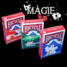 Lot jeux de cartes Bicycle SVENGALI + BISEAUTE