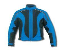 New Black/Blue 600D MESH Waterproof Armored Motorcycle Jacket Size 54,56 Reg$149