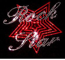 Rock Star Musica cristallo Rhinestone CANOTTIERE CANOTTE.. tutte le taglie 8-16
