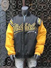Men's Black/Yellow Vokal 100% Polyester Jacket Size 2XL