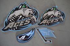CHOICE of: Alaska Aces ECHL Throwback Minor League Hockey Jersey Jacket Patch