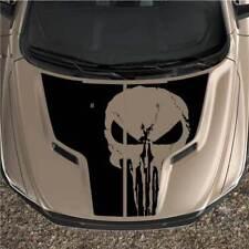 Punisher Rebel Dodge Ram 1500 Sport 2pc Hood Truck Black Out Graphic Decal Vinyl
