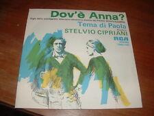 "STELVIO CIPRIANI "" DOV'E' ANNA?-TEMA DI PAOLA""  SIGLA TV ITALY'76"