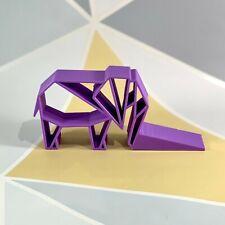 Elephant Doorstop - Trunk Style - 3D Printed - Rainforest - Safari - Home Decor