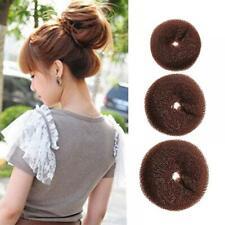 Styling Hairstyle Updo Shaper Hair Bun Sponge Doughnut
