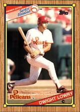 1989 Topps Senior League Baseball #1-132 - Your Choice -*WE COMBINE S/H*