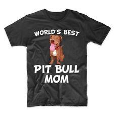 World's Best Pit Bull Mom Dog Owner T-Shirt