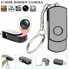 Mini Wireless Hidden Camera USB Disk HD DVR Cam Motion Detector Video Recorder