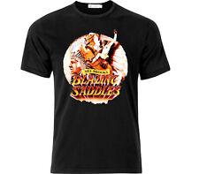 Blazing Saddles Iconic Movie T Shirt Black