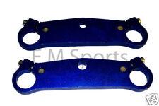 Mini Pocket Bike Triple Tree Fork Plate Parts 47cc 49cc Blue Cags Mx-3 GP-RSR