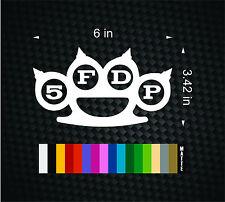 Five Finger Death Punch 5FDP Vinyl Decal Car Window Bumper Sticker